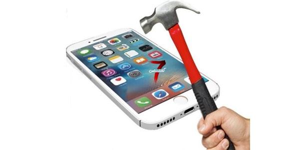 ضد ضربه کردن صفحه گوشی